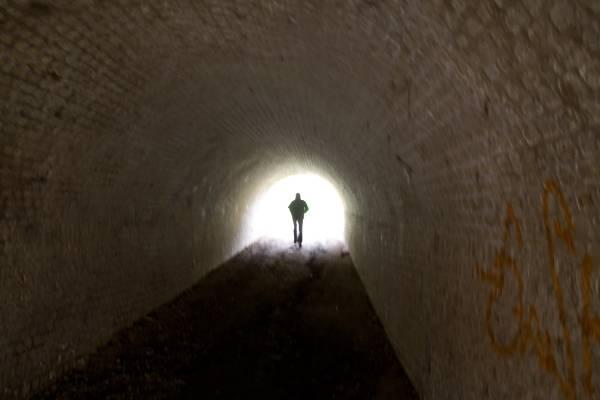 Het einde van de tunnel